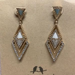 Portico Post Drop Earrings